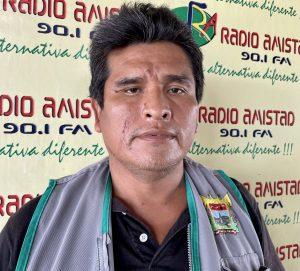 Regidor Alex Gallardo Huamán